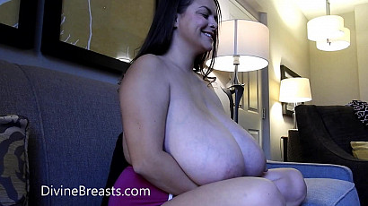 Alaura Grey Tits in Her Lap