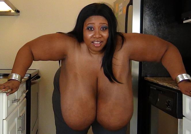 Cotton Candi Giant Breasts BBW