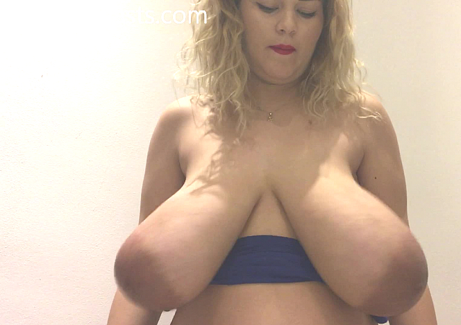 Erin Star 3 Months Pregnant Growing Boobs Bounce