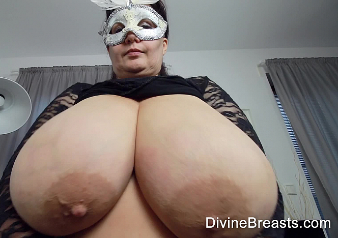 Julia Playing With Her Big Tits