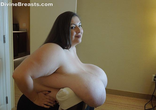 Mara Gigantic Tits Over A Chair