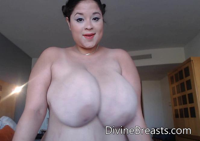 New Busty Model Mexican Beauty