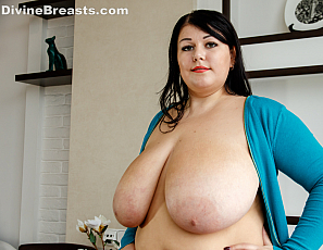 Bbw big titty monica jerks my cock