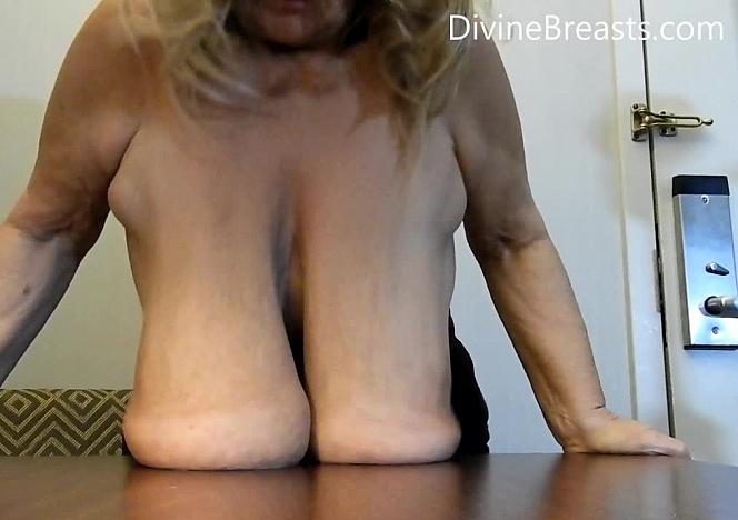 Sarah Massive Long Breasts