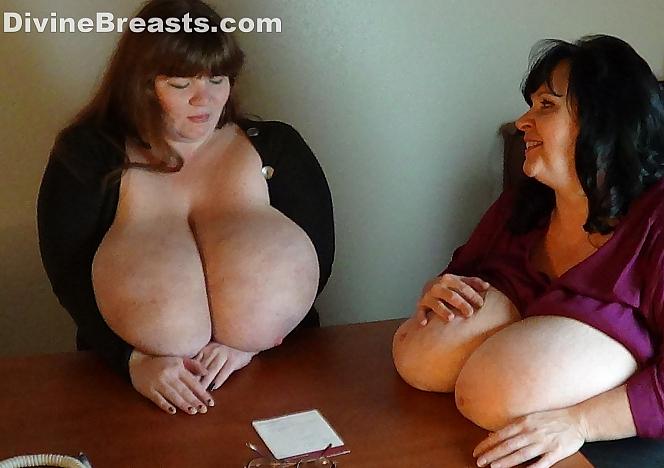 Suzie and Lexxxi Compare Boobs