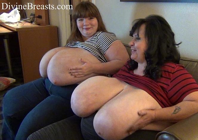 Suzie and Lexxxi Bouncey Tits