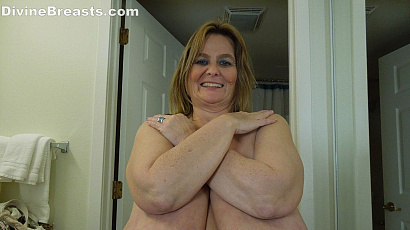 Sarah Large Breasts Gift For You