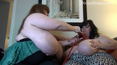 Suzie and Lexxxi Bound Big Tits