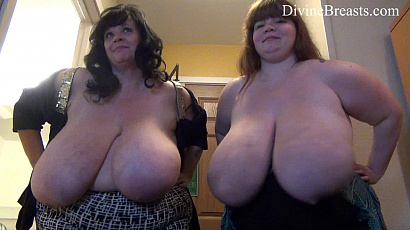 Suzie and Lexxxi Big Boobs Battle