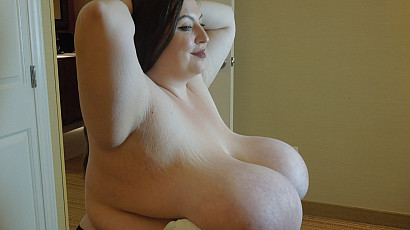Mara Gigantic Tits Over A Chair