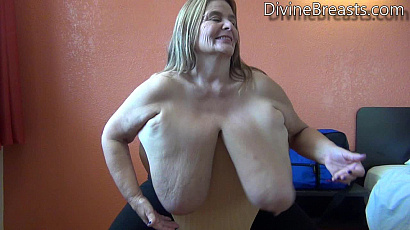 Sarah Huge Tits over the Chair