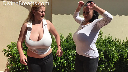 Helen and Erin Star Busty Sisters