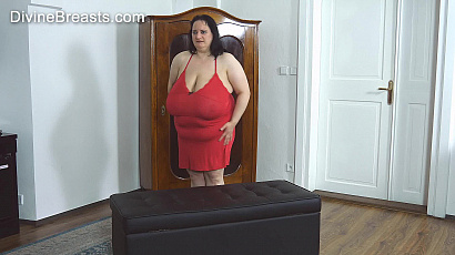 Sunniva Lind Red Dress Big Tits