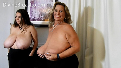 Alaura Grey and Sarah Giant Tits