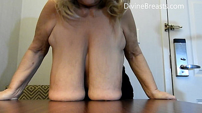 Sarah Massive Long Breasts