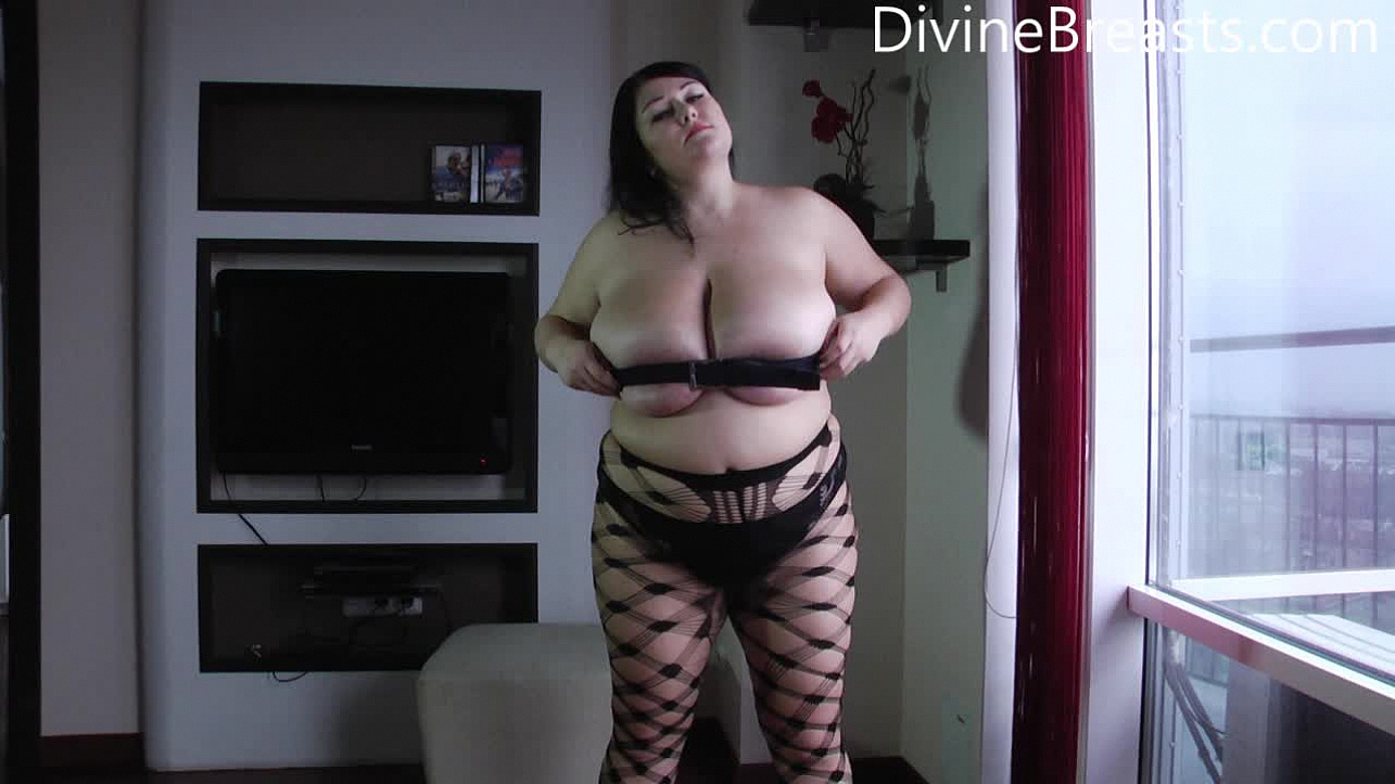 Monica Big Boobs Bondage